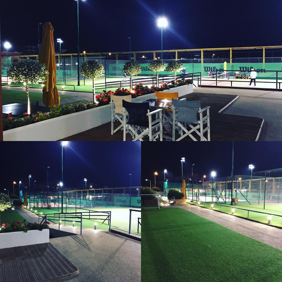 Winners Tennis Club By Night